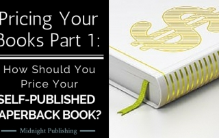 Pricing Your Books Part 1 How Should You Price Your Self-Published Paperback Book