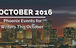 Phoenix Events for Writers This October 2016