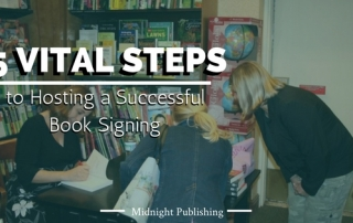 5 Vital Steps to Hosting a Successful Book Signing