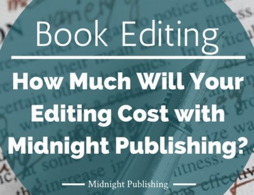 How Much Will Your Editing Cost with Midnight Publishing?
