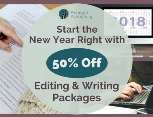 Start the New Year Right with 50% Off Editing and Writing Packages