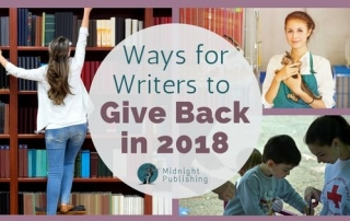 Ways for Writers to Give Back in 2018