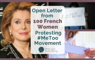 Open Letter from 100 French Women Protesting #MeToo Movement