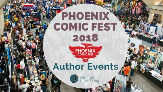 Phoenix Comic Fest 2018 - Author Events