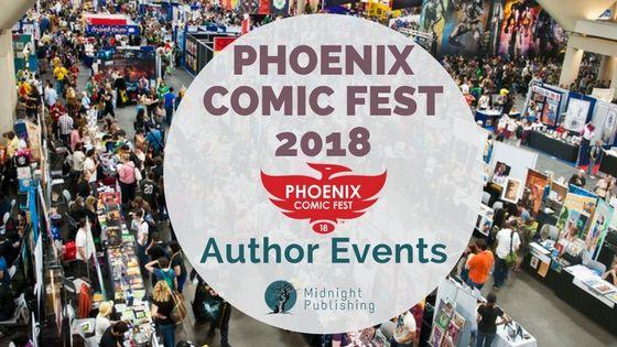 Phoenix Comic Fest 2018: Author Events