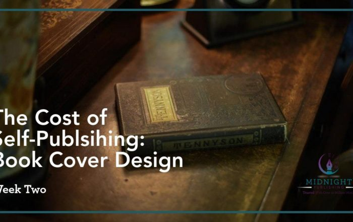 The Cost of Self-Publishing Week 2: Book Cover Design