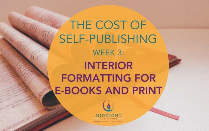 Interior formatting for e-book and print