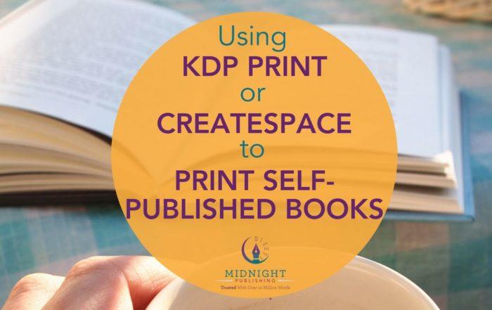 Print Self-Published Books