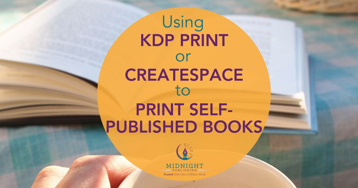 Print Self-Published Books