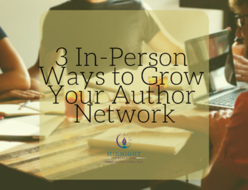 3 In-Person Ways to Build Your Author Network