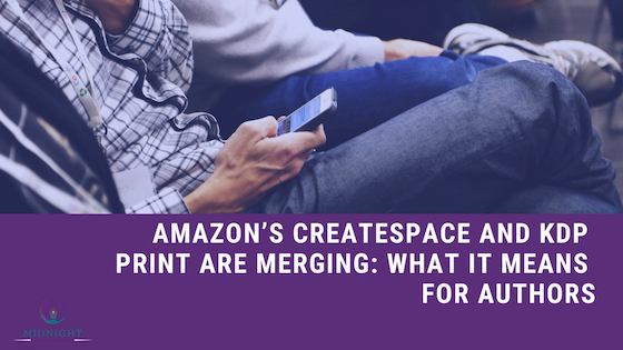 Share This Story! @AmazonPub @CreateSpace and @AmazonKDP Print are Merging: What It Means for #Authors