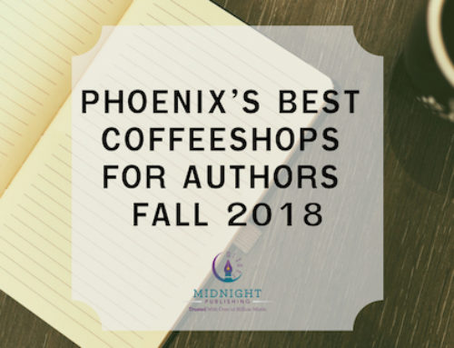 Phoenix's Best Coffeeshops for Authors Fall 2018