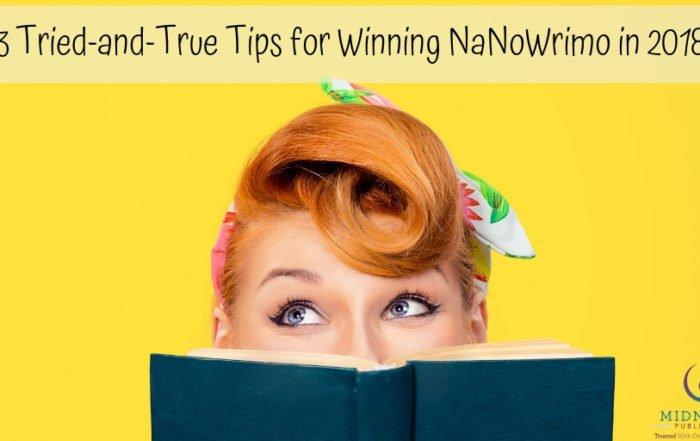 NaNoWriMo tips