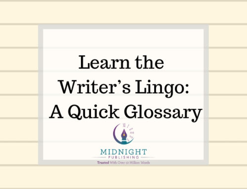 Learn the Writer's Lingo: A Quick Glossary