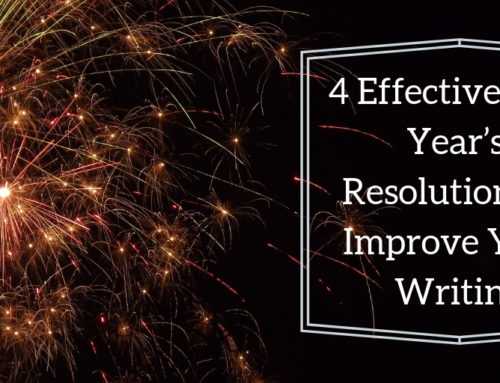 4 Effective New Year's Resolutions to Improve Your Writing in 2019