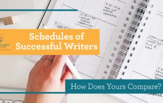 Schedules of successful authors