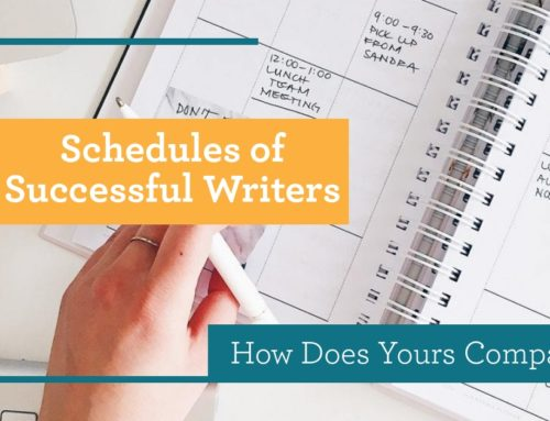 Schedules of Successful Writers: How Does Yours Compare?