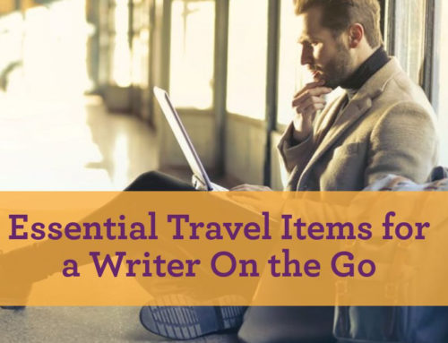 Essential Travel Items for a Writer On the Go