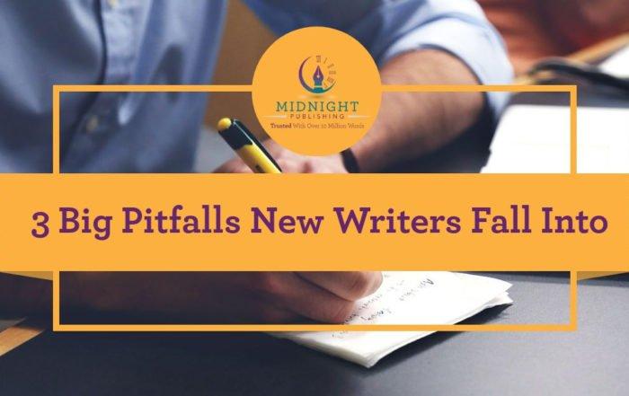 3 Big Pitfalls New Writers Fall Into
