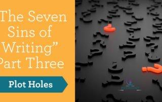 Plot holes - seven sins of writing