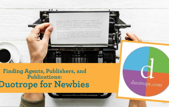 Finding Agents, Publishers, and Publications: Duotrope for Newbies