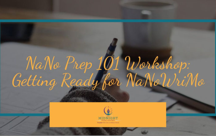 NaNo Prep 101 Workshop