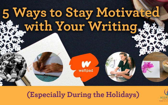 stay motivated with your writing