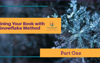 outlining your book with the snowflake method