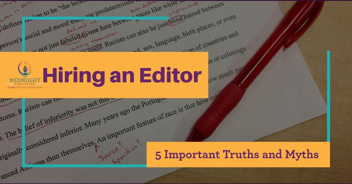 Hiring an Editor