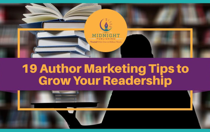 19 Author Marketing Tips to Grow Your Readership