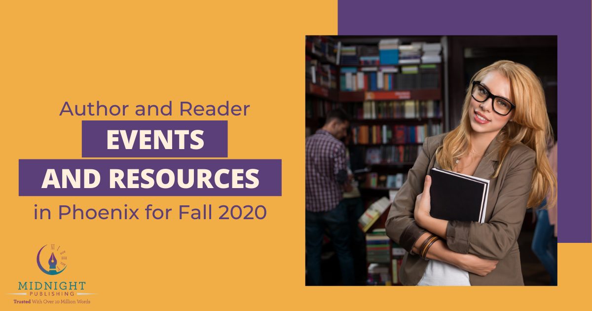 Author and Reader Events and Resources in Phoenix for Fall 2020 Featured Image