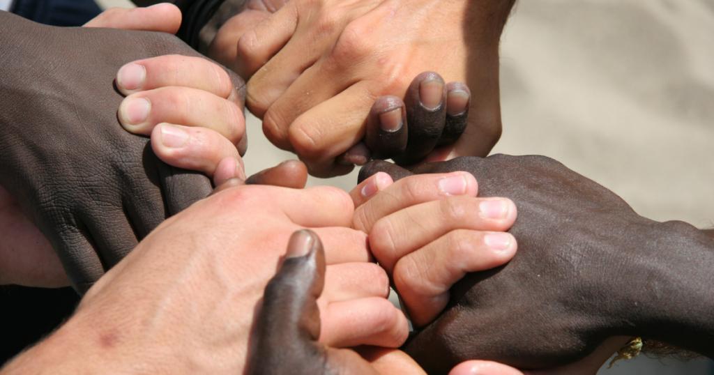 racism and racial discrimination diversity image